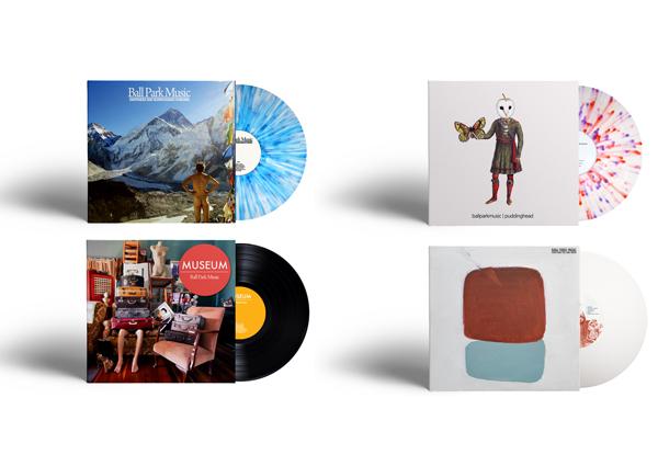 All 4 albums on vinyl