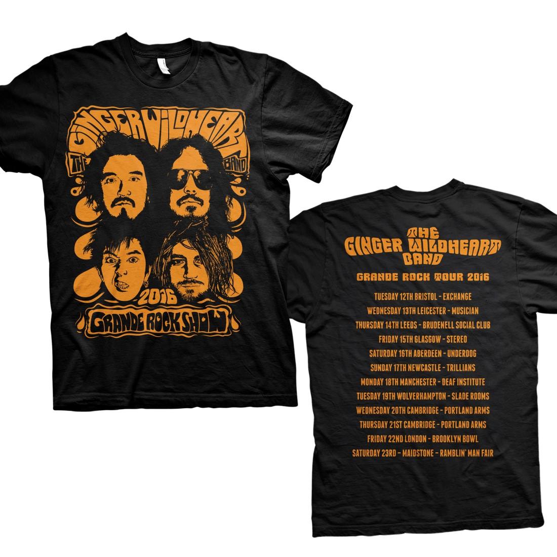Grande Rock Tour – Tee