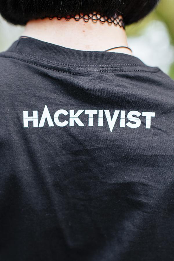 H Logo - Black T-Shirt