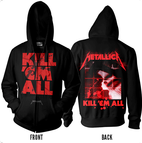 Kill Em All Mutated - Zip Hoodie