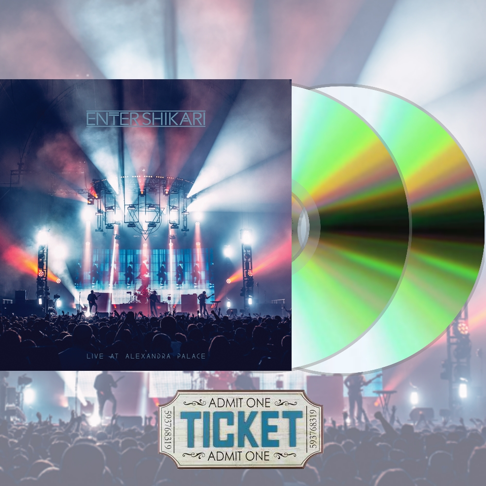 Live At Alexandra Palace 2xCD - Signed [Preorder] + BMTH Halloween Ticket