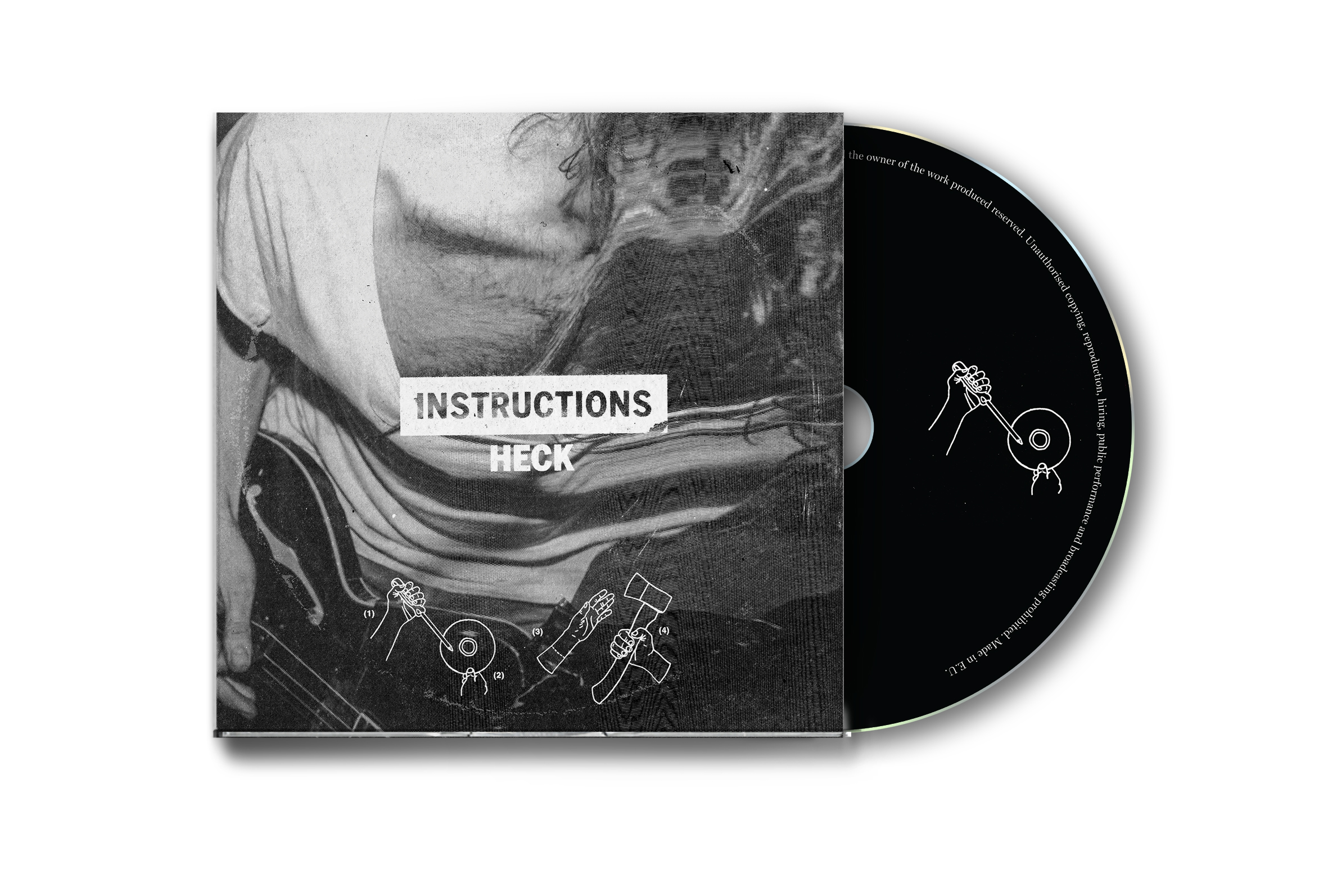Instructions - CD Digipack
