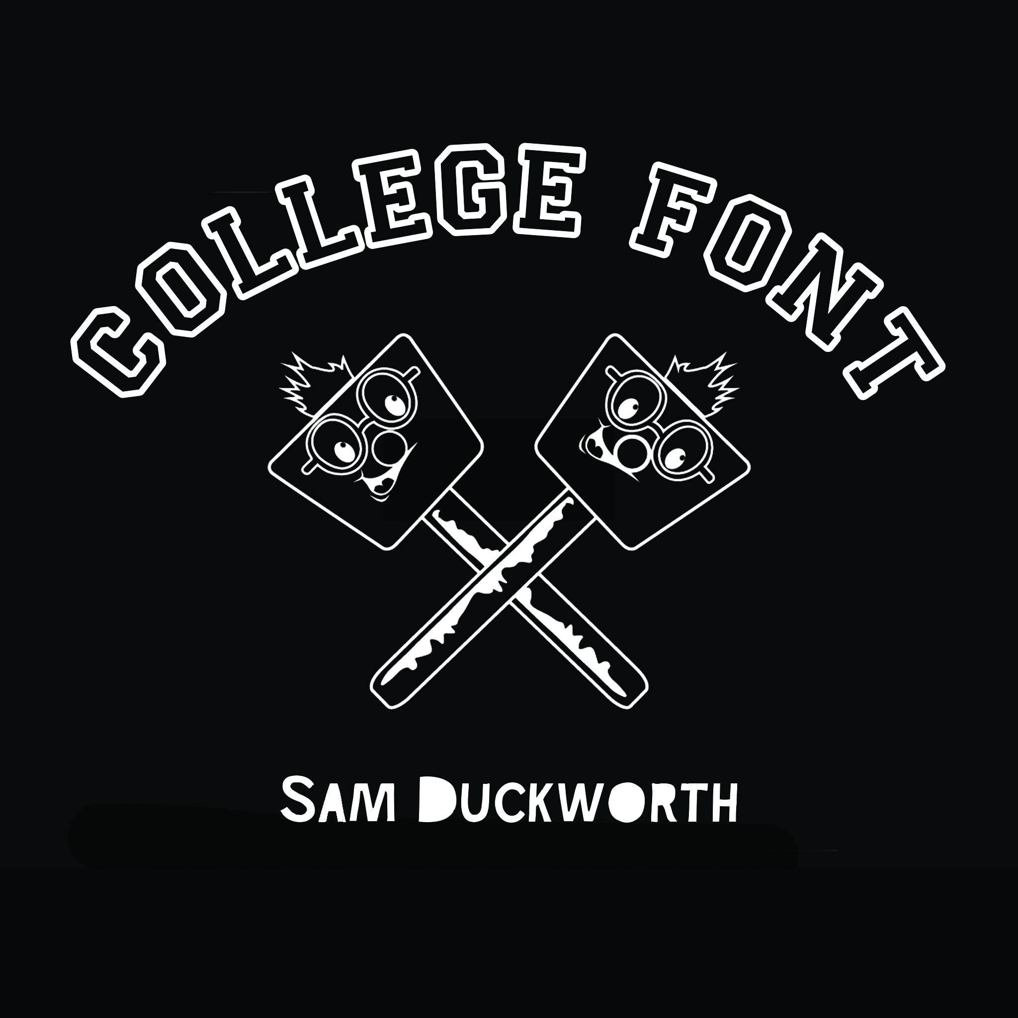 College Font Mixtape