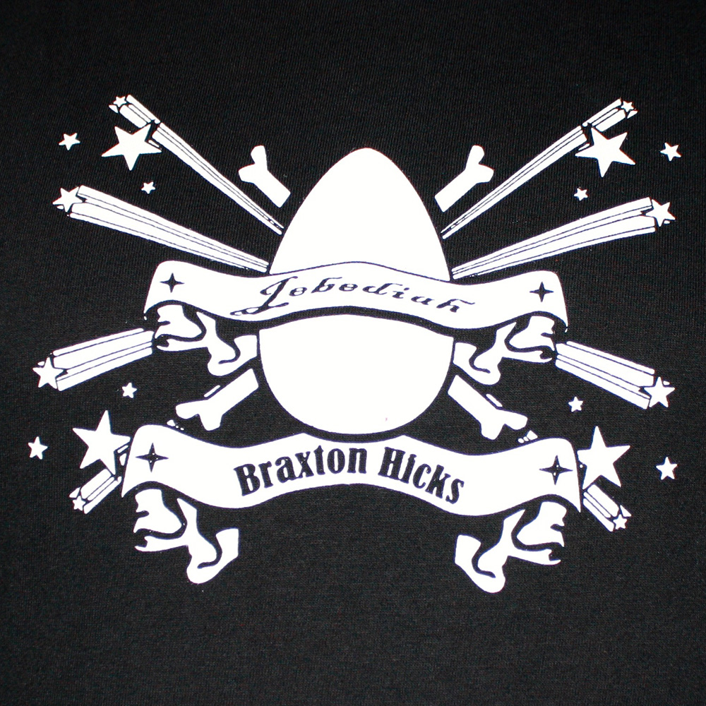Braxton Hicks - Black T-Shirt