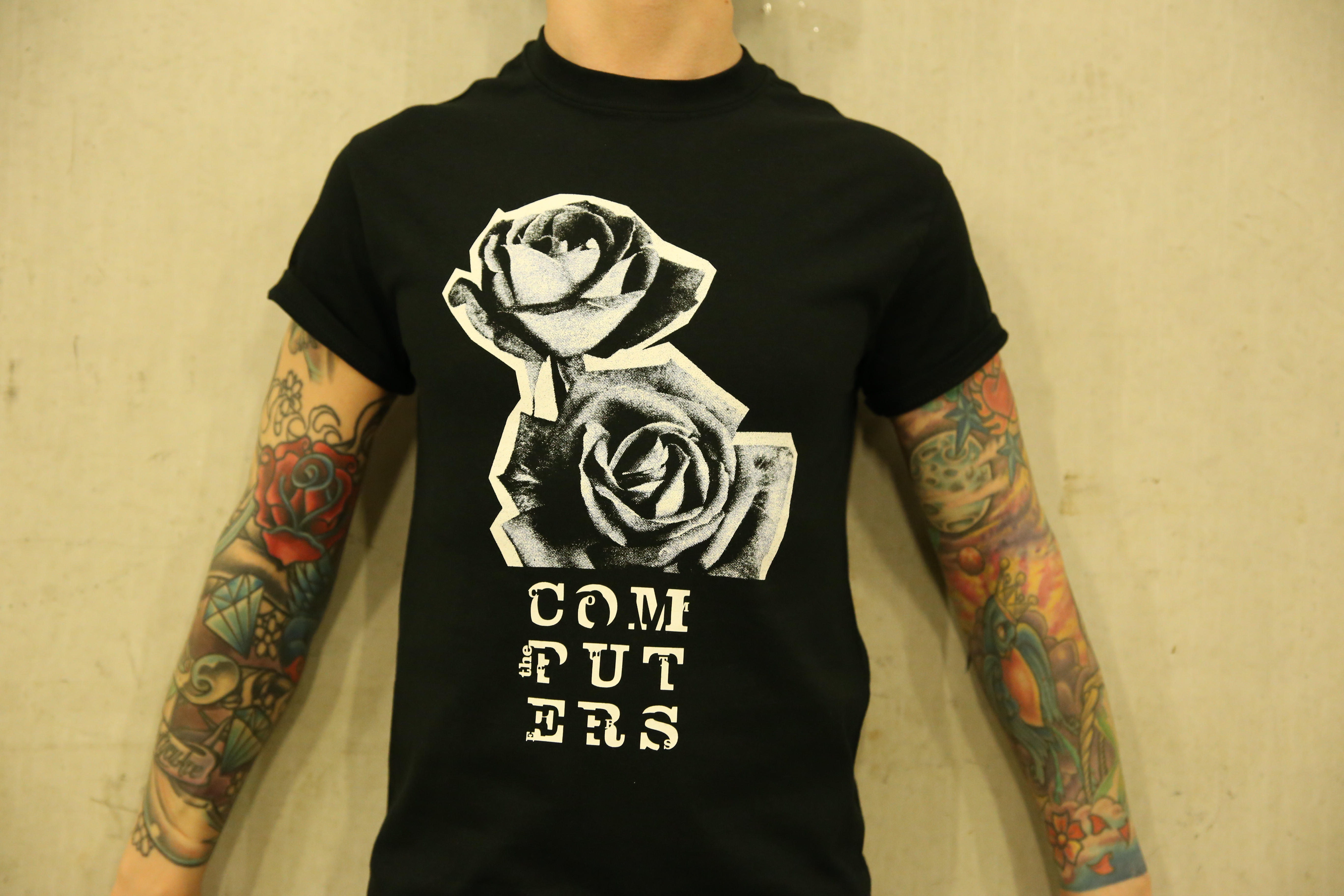 The Computers 'Roses' Tee