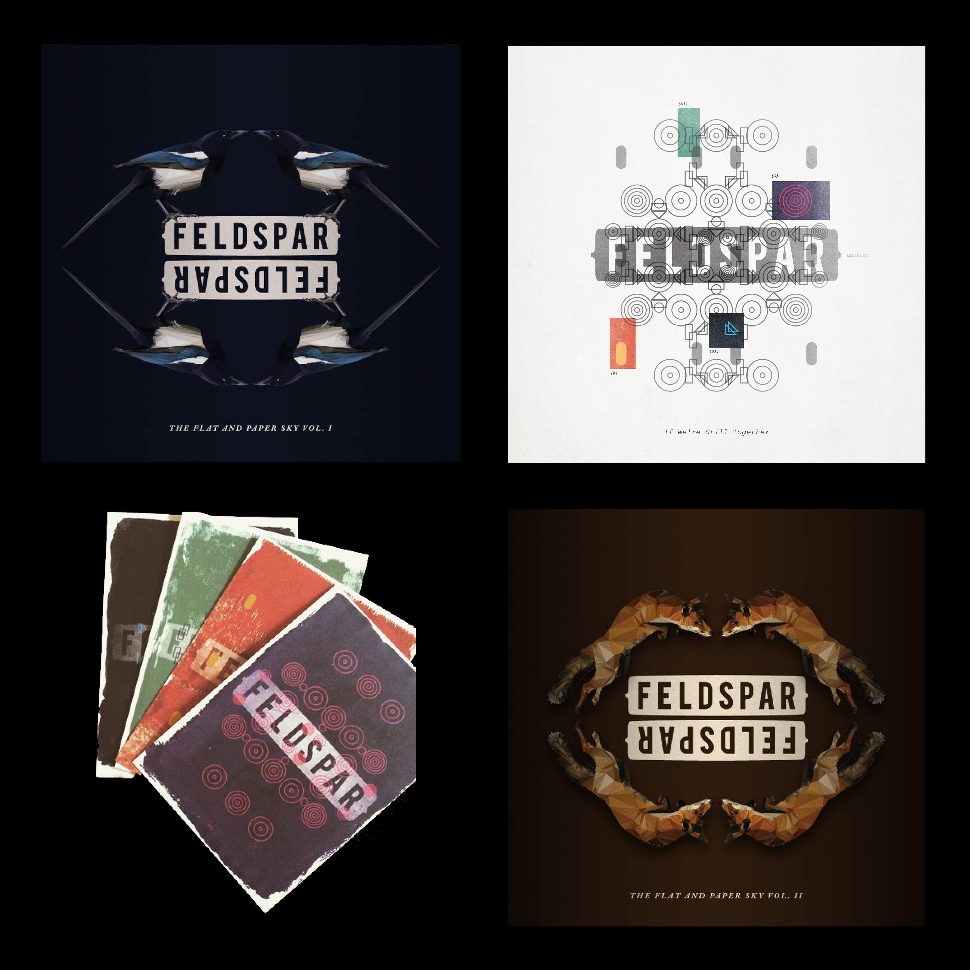 Feldspar **All Music** Bundle with Postcards