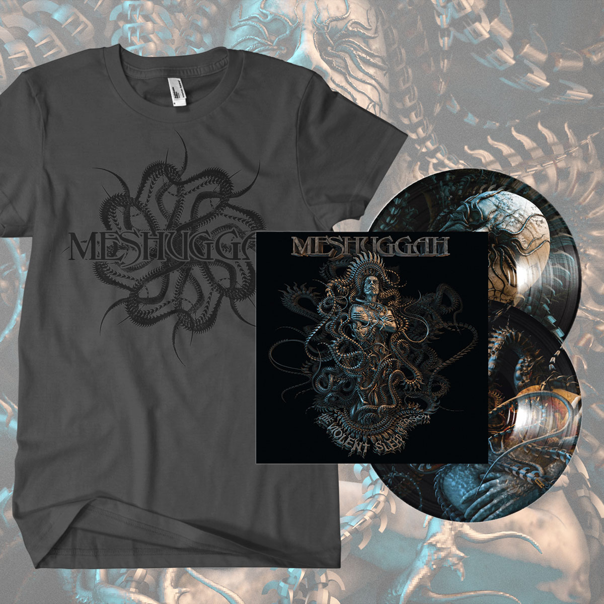 Picture Disc and 'Spine' T-shirt Bundle