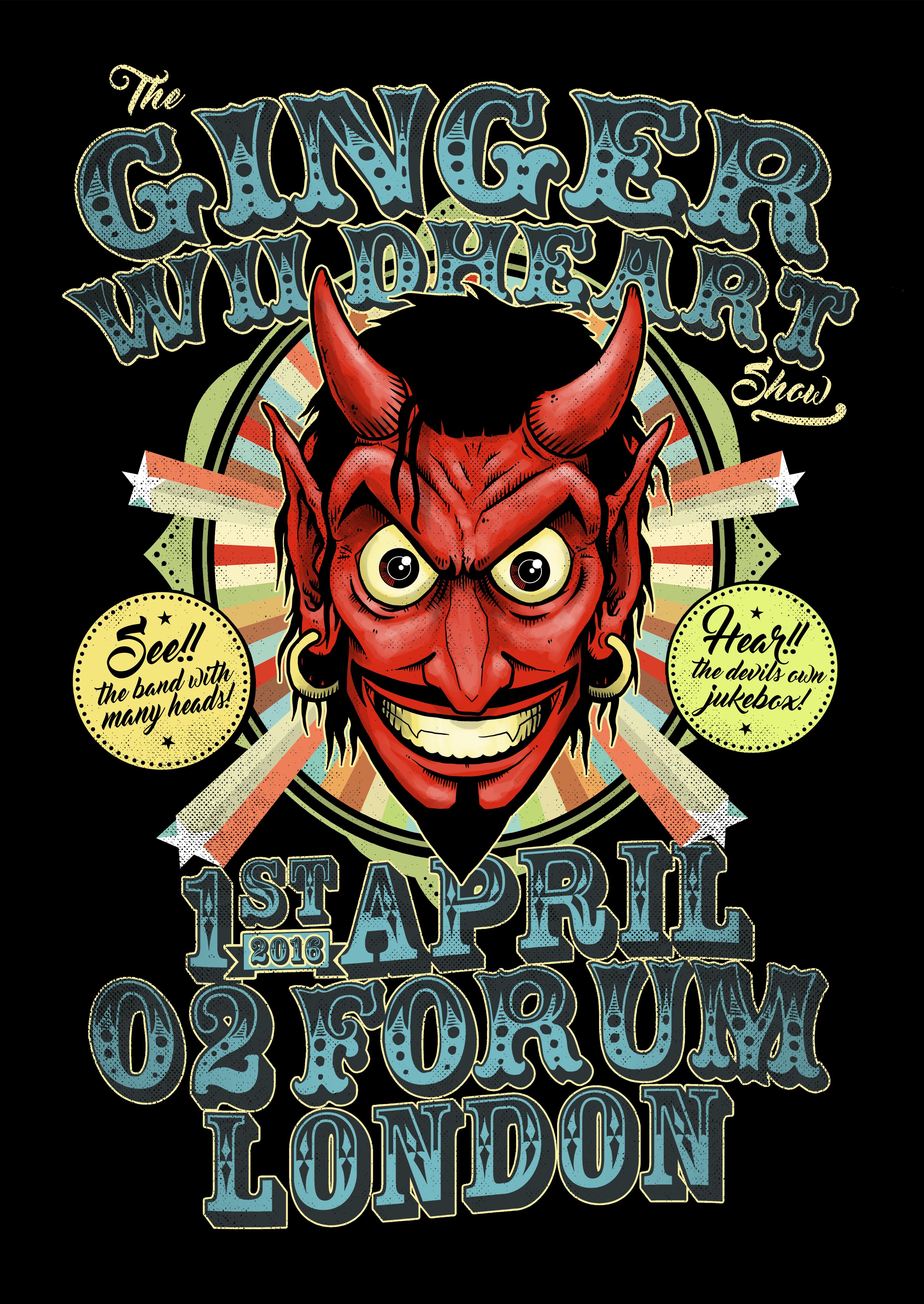 Signed Devil Event – A2 Art Print