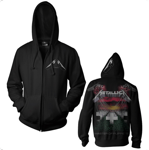 Master Of Puppets Faded - Zip Hoodie