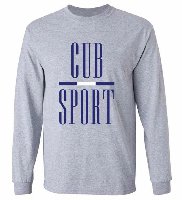 Cub Sport Grey Long Sleeve T