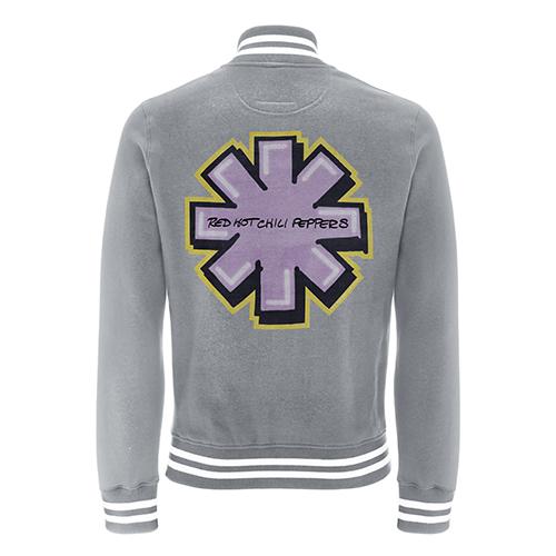 Graffiti Asterisk – Grey College Jacket